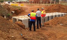 Inspection of precast culverts for major stormwater system
