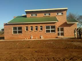 Nkomazi Child Care Centre at practical completion