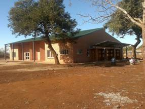 Nkomazi Community Hall & Child Care Centre at practical completion